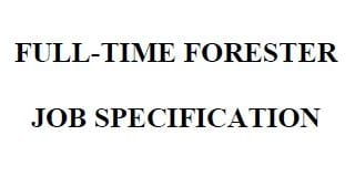 forester job spec